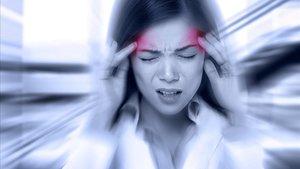 Una paciente con migraña.