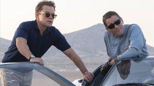 Matt Damon y Christian Bale, en 'Le Mans '66'.