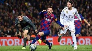 El clásico del 18 de diciembre en el Camp Nou.
