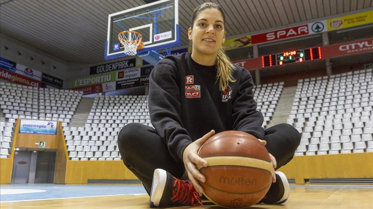 Una referente del básquet catalán, Marta Xargay, en vísperas de disputar la Copa de la Reina.