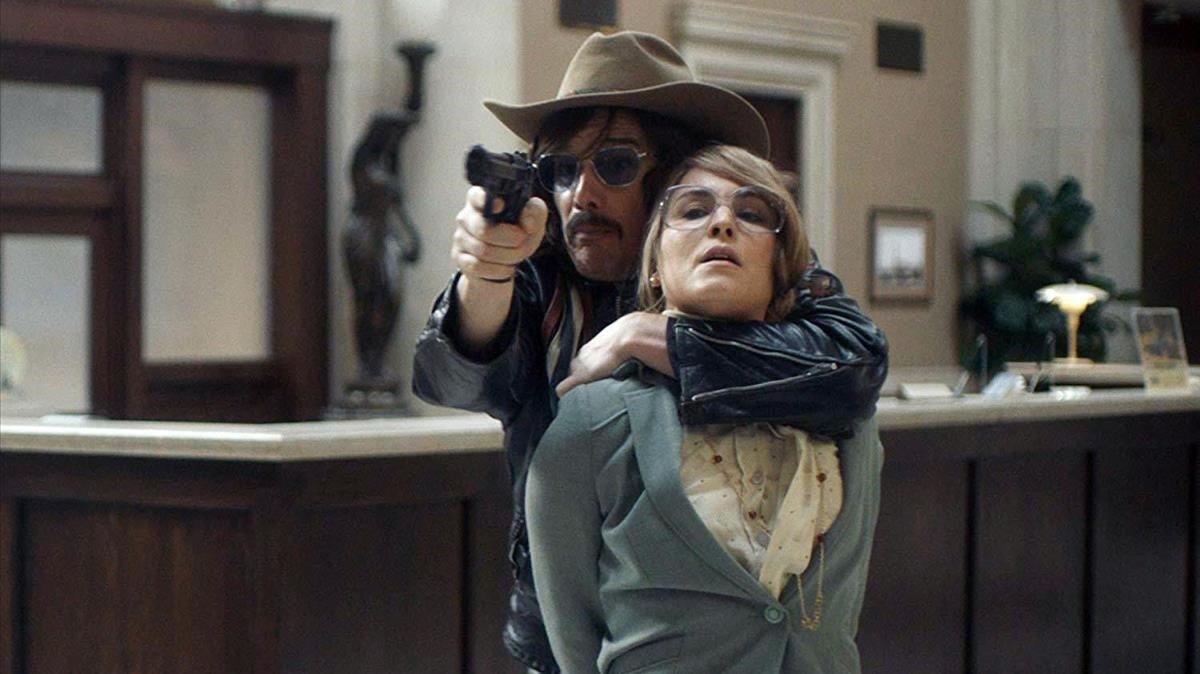 Ethan Hawke, proagonista de 'El captor', en un fotograma del filme.