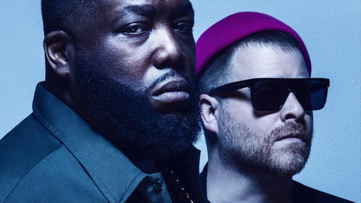 Killer Mike y El-P, el dúo hip hop Run The Jewels.