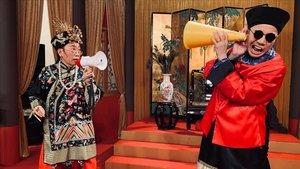 Un 'gag' de 'Headliner', el programa censurado de la televisión de Hong Kong.