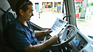 Los camiones suelen tener más accidentes en vías interurbanas.