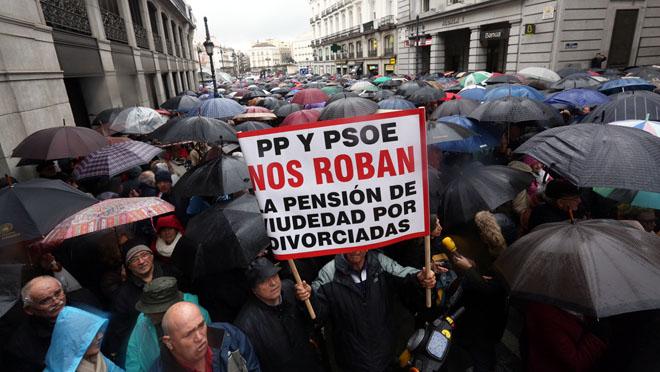 Los pensionistas vuelven a tomar las calles en más de 40 ciudades españolas