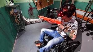 Uno de los espacios del VR Park en Dubái