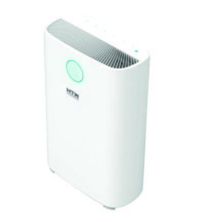 Así es el purificador de aire Space de HTW que elimina hasta el 99,95% de contaminantes