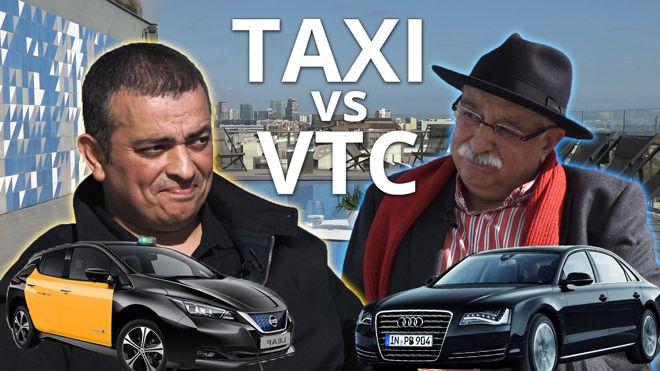 Taxi vs. VTC: el cara a cara definitiu