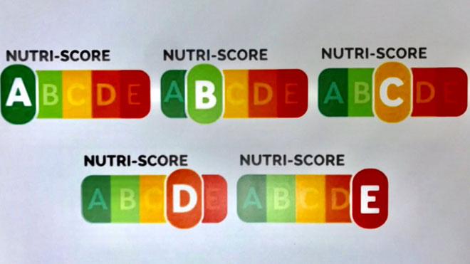 Els aliments es classificaran en cinc colors segons la seva qualitat nutricional