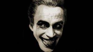 El actor alemán Conrad Veidt, en su papel en 'El hombre que ríe'.