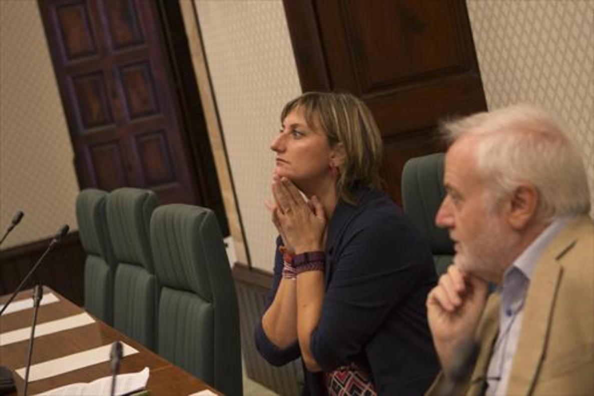 La consellera de Salut,Alba Vergés.