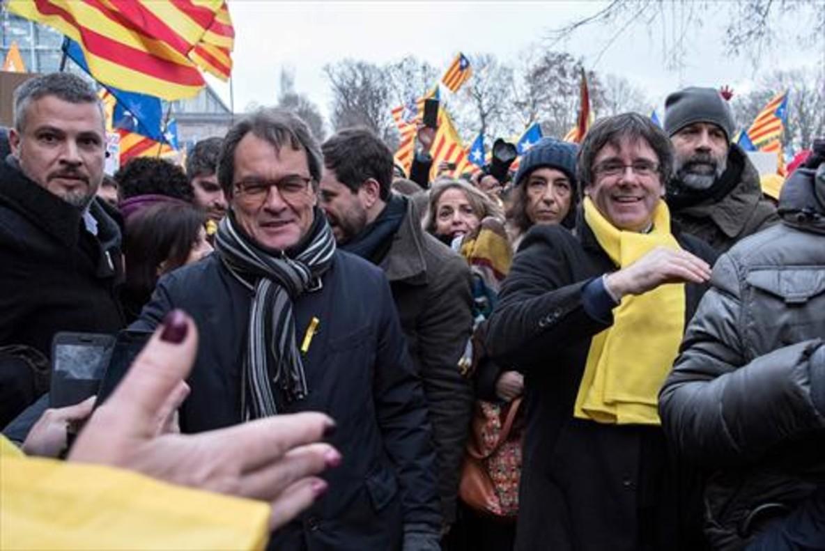 Artur Mas, el anterior 'president'.