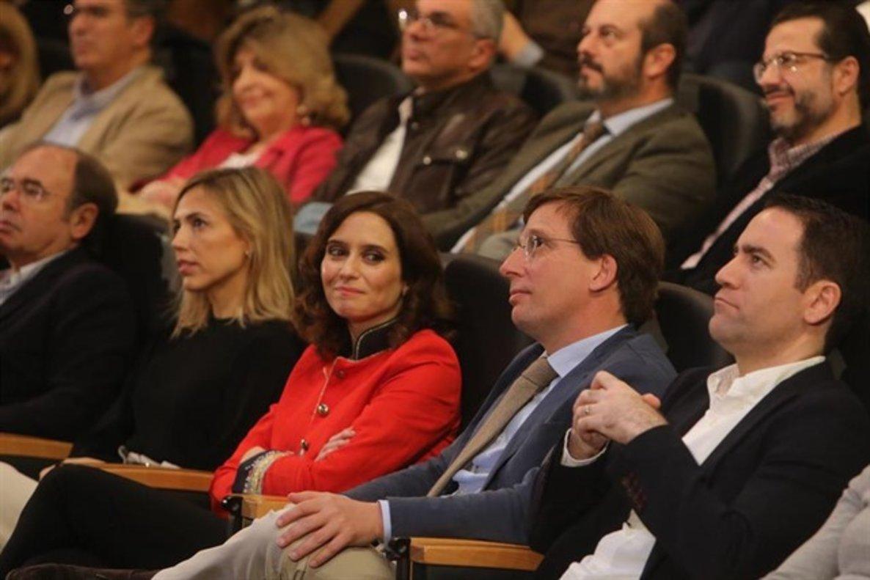 La candidata y portavoz del PP de Madrid Isabel Díaz Ayuso.
