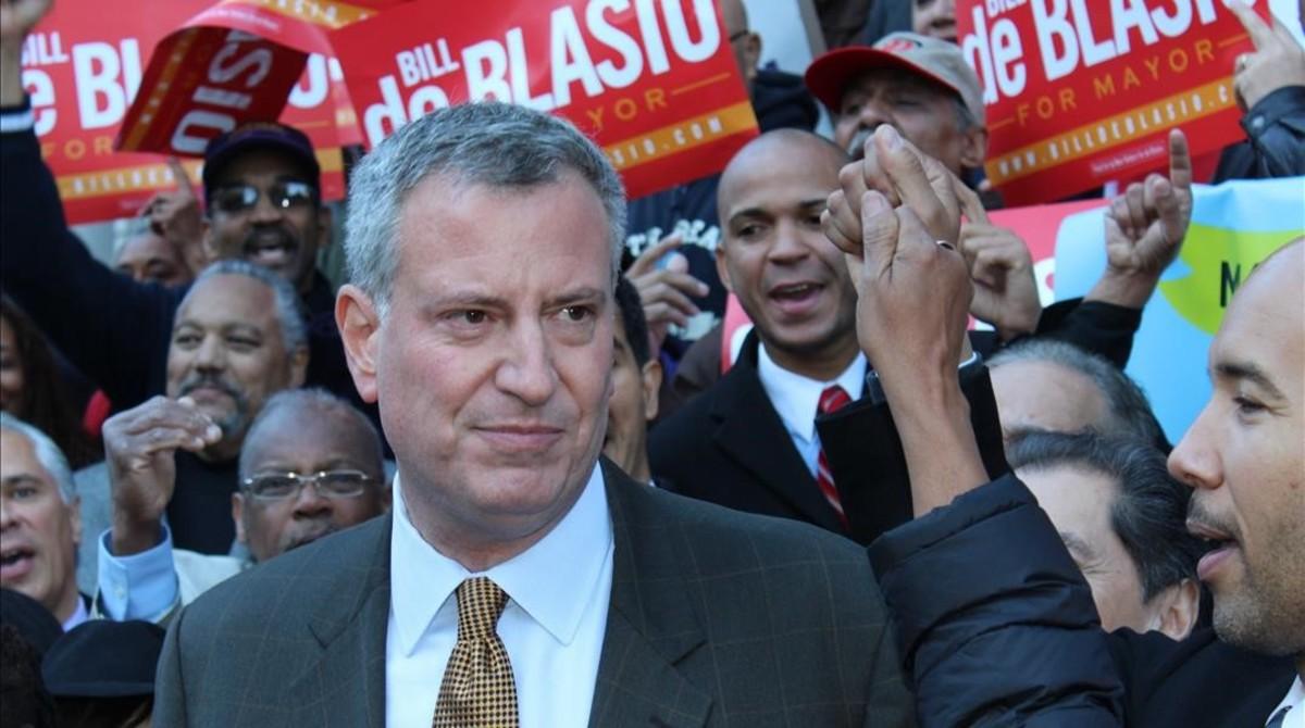 Bill de Blasio, alcalde de Nueva York, en una imagen de archivo.