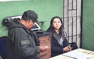Patricia Hermosa, exjefa de gabinete de Evo Morales.