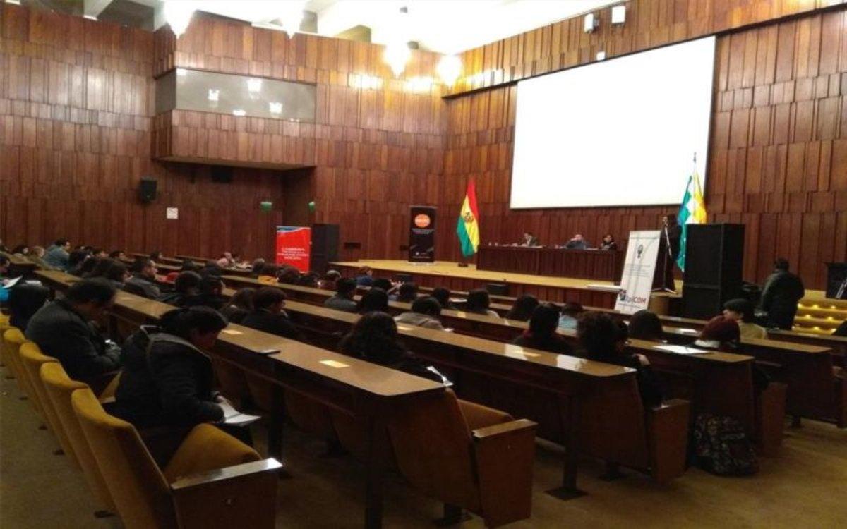 Instalaciones delTribunal Supremo Electoral (TSE)de Bolivia.