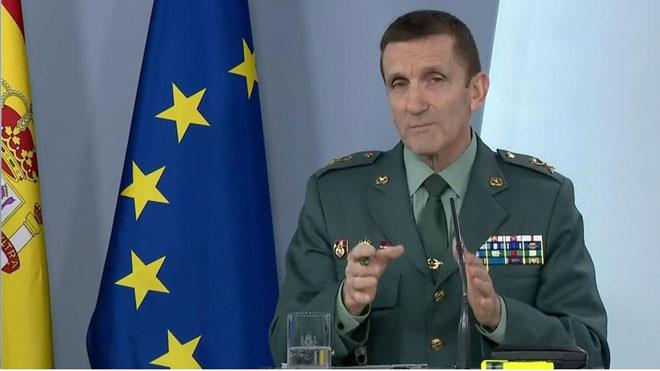 Marlaska ascendeix el general de la Guàrdia Civil de la polèmica per les notícies falses