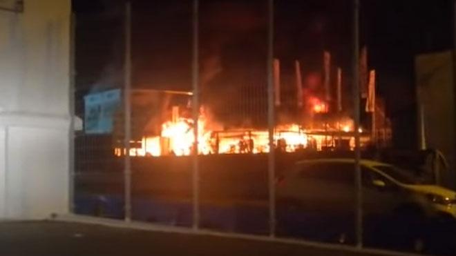 S'incendien totes les motos elèctriques del MundialE
