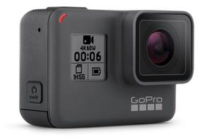 La cámara Gopro Hero 6.