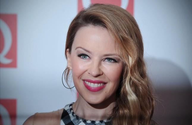 La cantant australiana Kylie Minogue.
