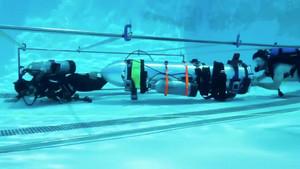 La cápsula diseñada por el equipo de Elon Musk para rescatar a los niños de Tailandia.