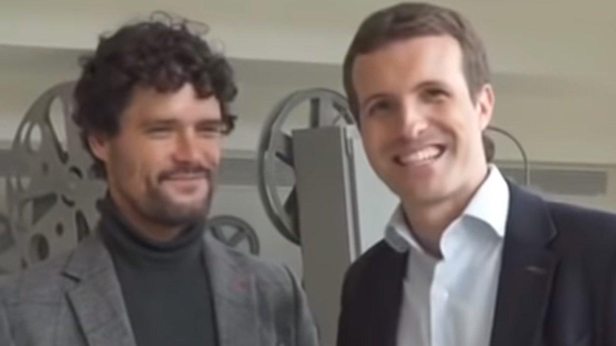 Pablo Casado y Miguel Abellán.