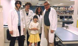 Can Ruti busca una cura per a la Chloe, que pateix una doble mutació genètica