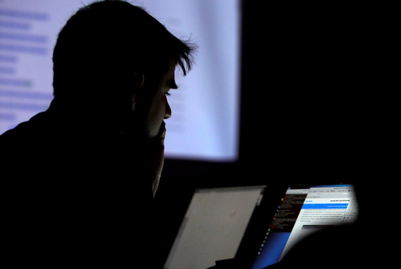 Foto de archivo de una convención de hacking en Las Vegas.
