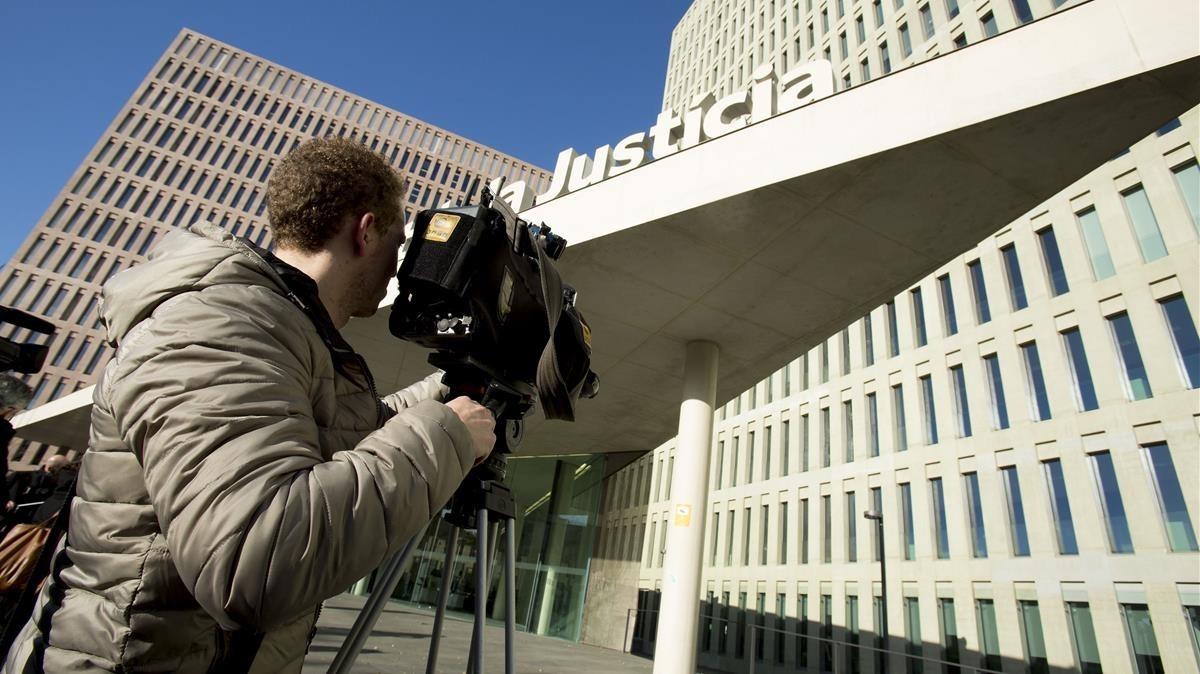 La Ciutat de la Justícia, en una imagen de archivo.