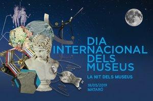 Cartel del Día Internacional de los Museos en Mataró.