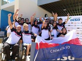 L'equip de natació adaptada del CN Mataró es proclama campió d'Espanya