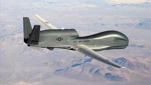 El dron estadounidenseRQ-4 Global Hawk.