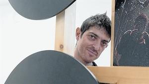 Emilio Bueso, durante su paso por la Eurocon de Barcelona.