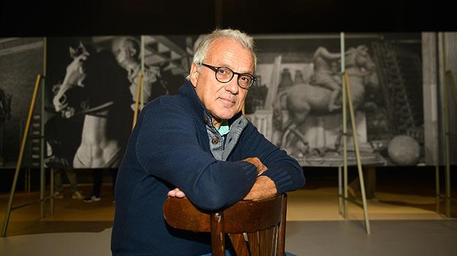 Entrevista con Manel Risques, comisario de la exposición sobre Franco en el Born. La estatua de Franco en la calle me da repelús, asegura.