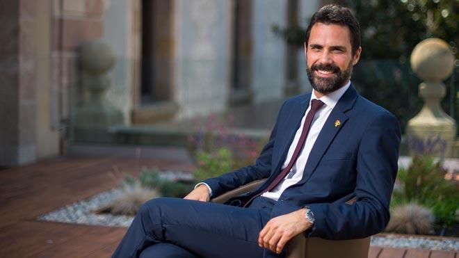 Entrevista a Roger Torrent, presidente del Parlament de Catalunya