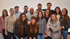 El equipo de la start-up Qida.
