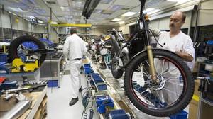 La fábrica de Honda en Santa Perpètua de Mogoda.