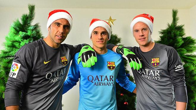 Felicitaciones De Navidad Del Fc Barcelona.El Barca Felicita Las Navidades