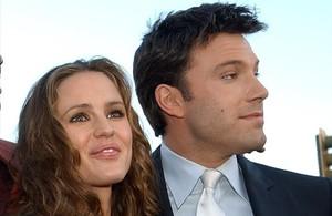 Jennifer Garner y Ben Affleck, en el 2003, cuando eran pareja.