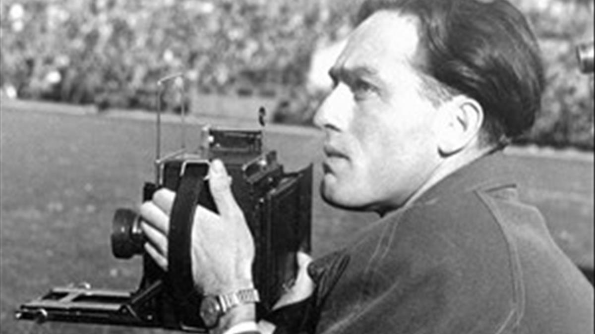 El fotógrafo austríaco Erich Lessing.