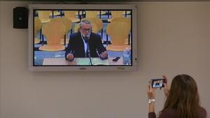 Francisco Correa, el pasado 17 de noviembre, durante su declaración en el juicio del 'caso Gürtel' en la Audiencia Nacional.