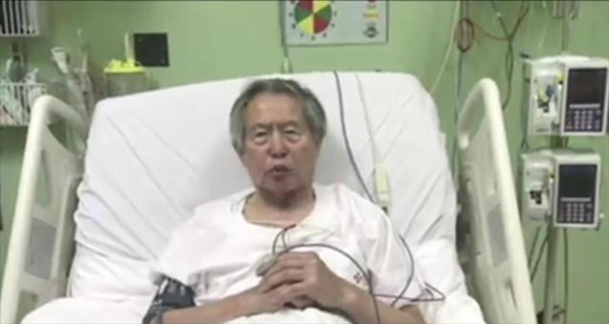 Fujimori estuvo más de 100 días internado en la clínica de Lima.