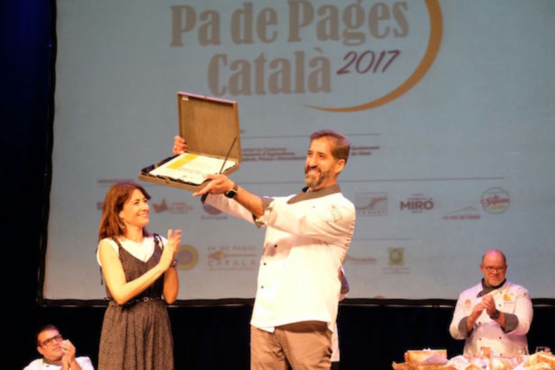 Miquel Guich, guanyador del millor pade pagès català de lany.