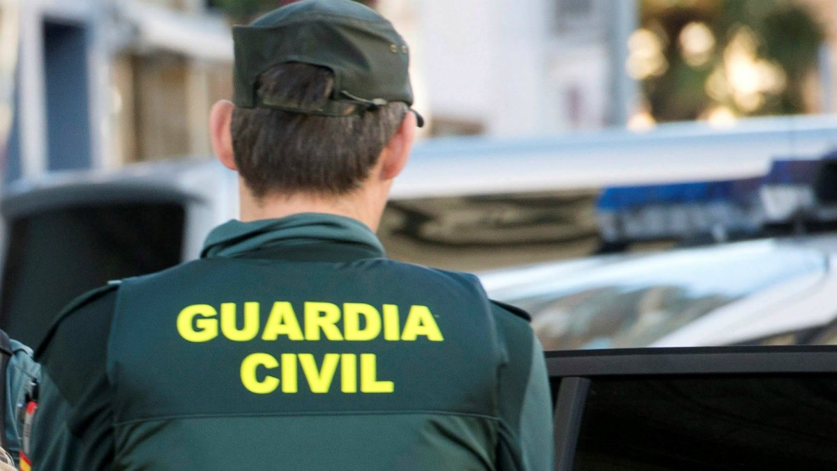 Un guardia civil.
