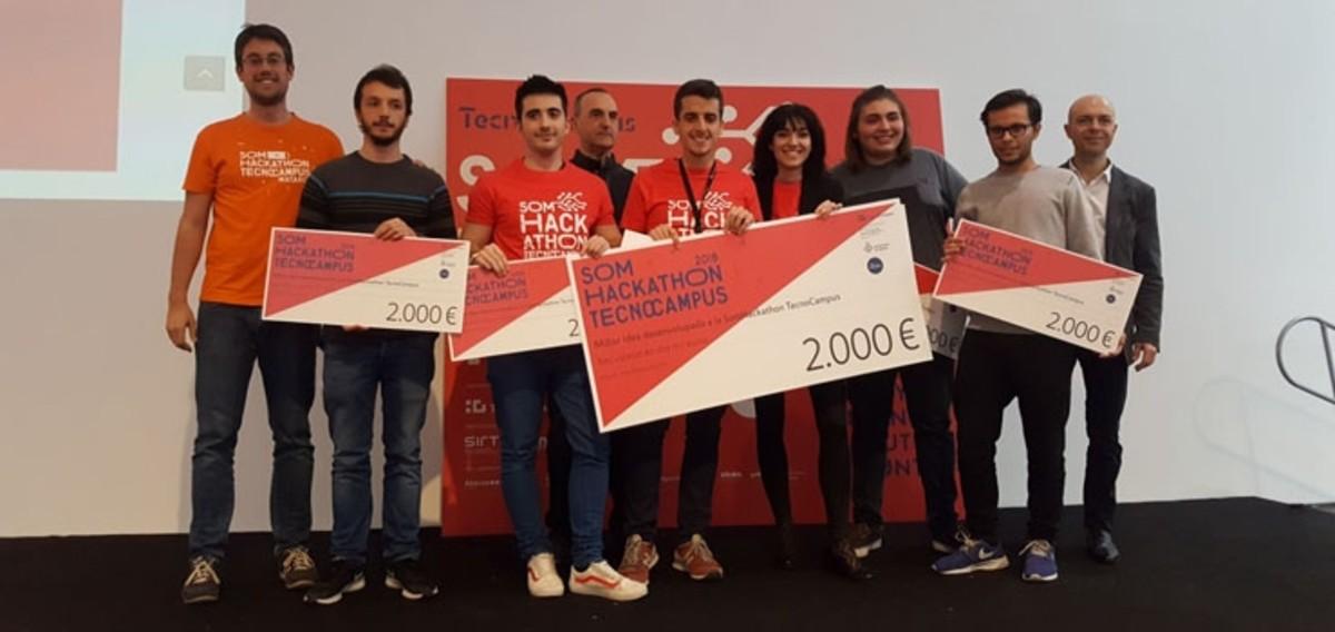Ganadores de la segunda Som Hackathon.