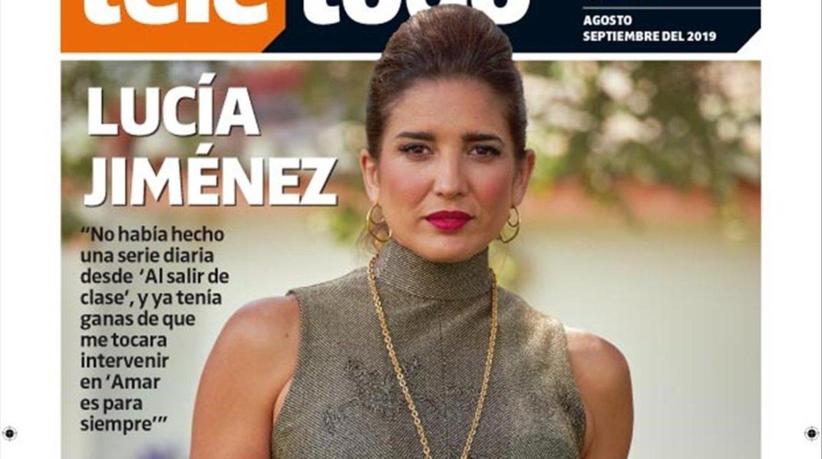 Lucía Jiménez, la bonica vídua dels setanta que arriba a 'Amar es para siempre'