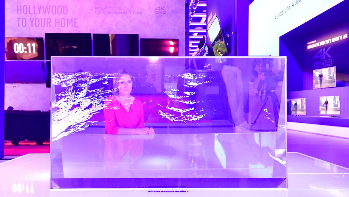 Espectacular modelo de televisor de ultra alta definción presentado en el IFA de Berlín de este año.