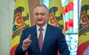 Igor Dodon, presidente de Moldavia.