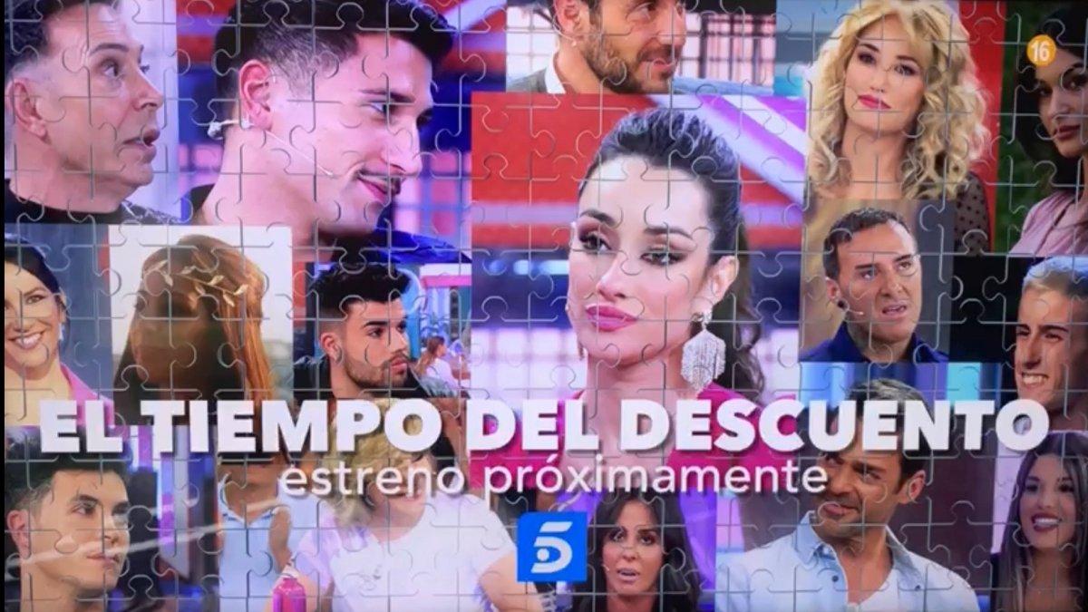Imagen de la promo de 'El tiempo de descuento'.