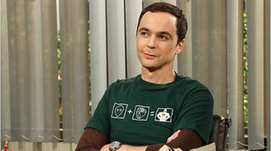 Jim Parsons, en el papel de Sheldon en 'The big bang theory'.